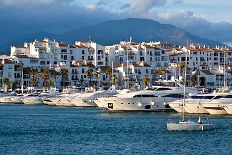 BHFGYE Luxury yacht harbor Puerto Banus, Marbella - Andalusia, Spain