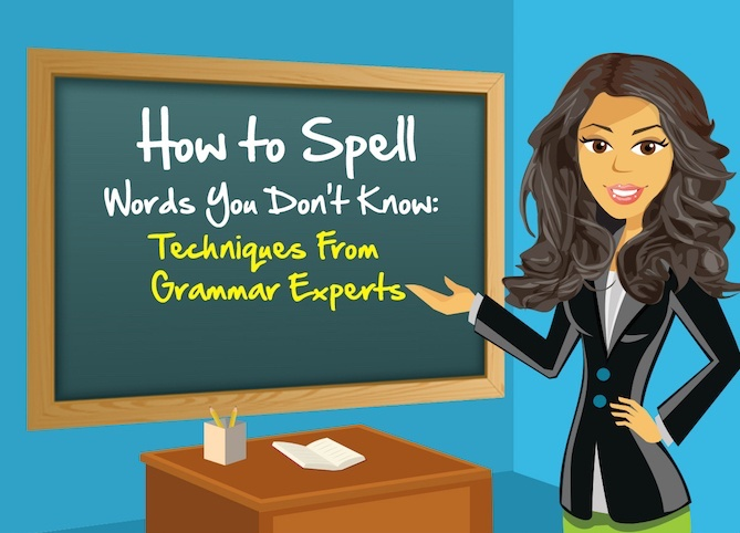 Learn How to Spell [Infographic]